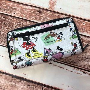Disney Parks Vegan Mickey Mouse wallet EUC